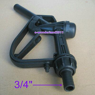 "DN20 3/4"" Trigger Delivery Nozzle /Fuel Nozzle Plastic For 1000L IBC"