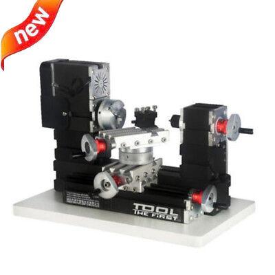 Metal Rotating Lathe Motor Diy Tools Drilling Machine 12000rmin 60w