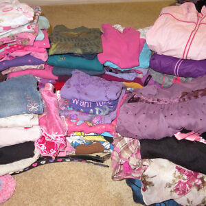 Barnhartvale: Girls LOT Clothes – size 4-8 yrs – over 100 items!