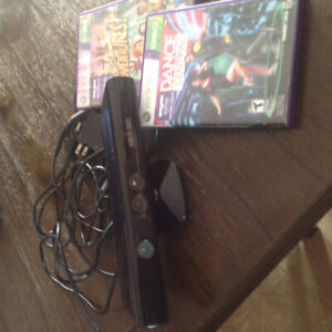 Kinect for Xbox 360 and 2 games