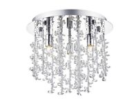 Dar SES Sestina 3 Light Polished Chrome Light