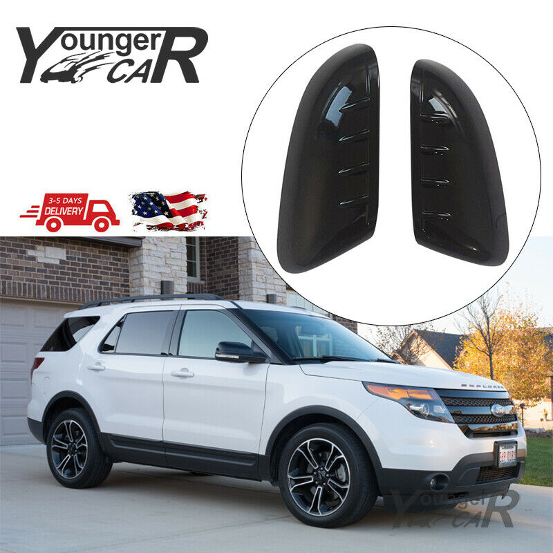 Tailgate Cover Fit 2011-2015 Ford Explorer Chrome Mirror Covers Top Half Cap