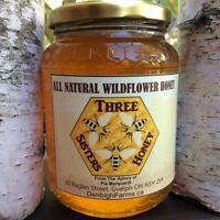 All Natural and Unpasteurized Wildflower Honey
