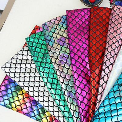 en Stoff dehnbar Glitzer Kostüm Dekor DIY Handarbeiten (Fisch Kostüm Diy)
