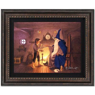 Lord Of The Rings SIGNED CANVAS GICLEE GREG HILDEBRANDT framed LOTR HOBBIT fr.