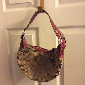 Coach Signature Patchwork hobo bag/ purse