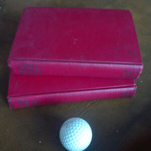 2 Very Old Financial/Job Related Books, 1920's