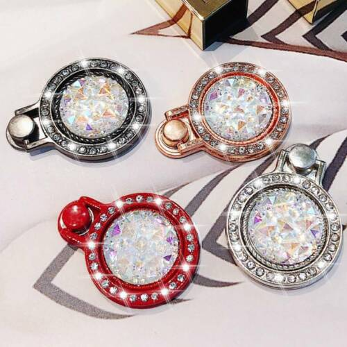 Finger Ring Grip Cell Phone Holder Stand Attachment Rotating