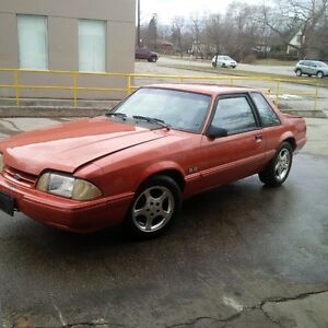 1989 mustang 5.0L 5 spd coupe