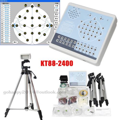 KT88-2400 Digital EEG And Mapping System 24 channels of EEG EMG EOG Breath