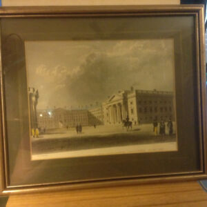 Print Reproduction Engraving College Dublin