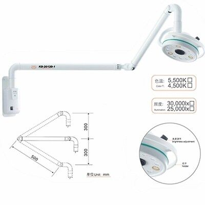 36w Medical Wall-mounted Led Exam Light Surgical Shadowless Lamp Cold Light