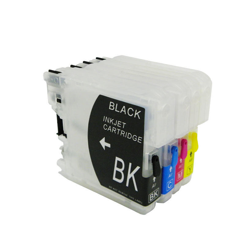 Refillable Ink Cartridge For Brother LC11 LC16 LC38 LC61 LC65 LC67 LC990 LC1100