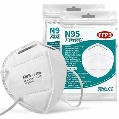 FFP3 Maske 10er Pack Atemschutzmaske Mundschutz Schutzmaske
