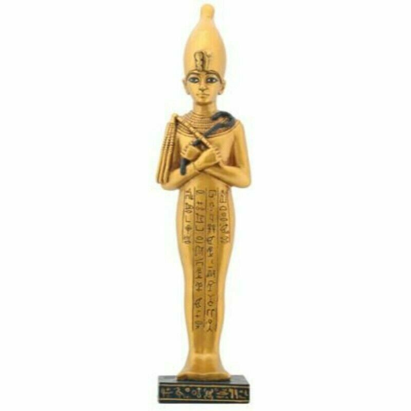 Shawabty with White Crown Egyptian Decoration Statue