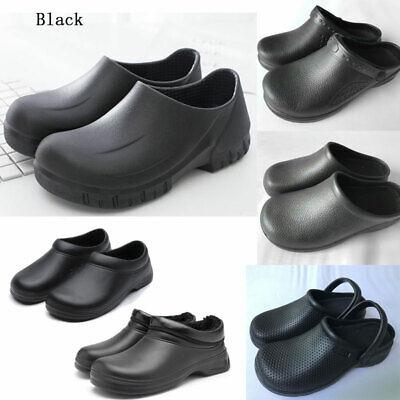 Men Women Non-slip Chef Shoes Kitchen Oil-resistant Waterpro