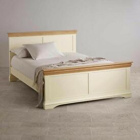 Solid oak bed