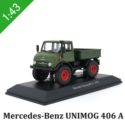 1/43 Scale Original Mercedes-Benz Diecast Model Car - UNIMOG 406 A 1970 Truck