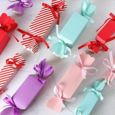 Baby Shower Favor Bags And Boxes (Wedding Favor Box and Bags Sweet Gift Candy Boxes for Wedding Baby Shower)
