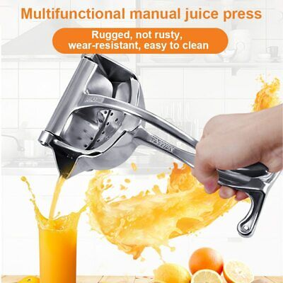 Handheld Fruit Juicer Portable Machine Squeezes Durable Manual Juicer Lemon Clip