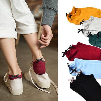 Women Cotton Ladies Girls Short Socks Solid Stockings Womens Hosiery Cozy Socks
