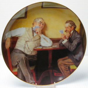 "Norman Rockwell ""Best Friends"" Collector Plate"