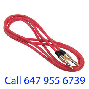 Aux Cord, Mp3 Headphone, earphone cable 3.5mm For Sale