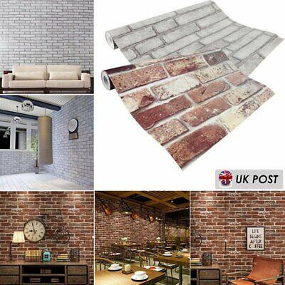 1~10 PCS Slate Brick Faux Wallpaper Realistic 3D Effect Rustic Feature 5074 5072
