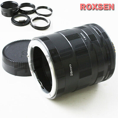 AF confirm Macro Extension Tube for Nikon F mount DSLR camera D610 D5300 D3300 Nikon Macro Extension Tube