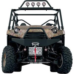 Warn Combination Winch Mount & Bumper: 2012-2014 Kawasaki Teryx4