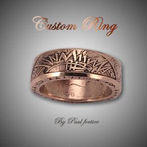 Custom Coin Rings For Sale