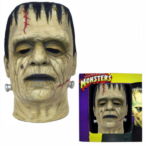 Don Post FRANKENSTEIN CALENDAR MASK in BOX Glenn Strange