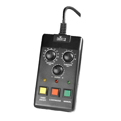 Fog Machine Timer Control (CHAUVET DJ FC-T Wired Vertical Fog Machine Timer Remote)