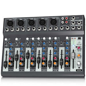 Behringer 10-Input 2-Bus Mixer, Optional Battery Operation