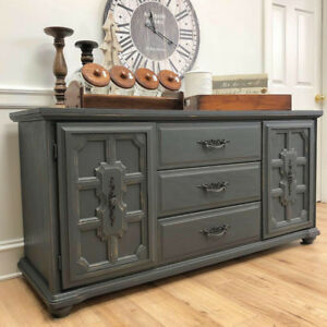 Solid & Sturdy Refinished Buffet