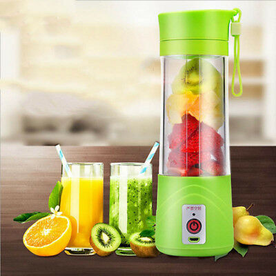 380ml USB Electric Fruit Juicer Smoothie Maker Blender Shaker Bottle Portable /