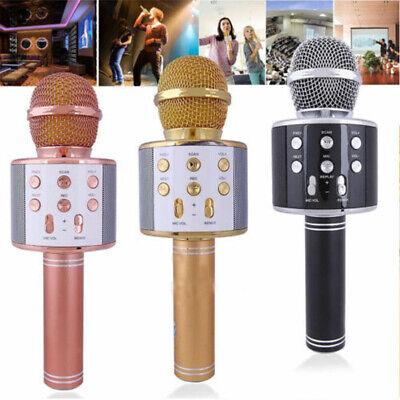 Children Wireless Bluetooth Microphone Handheld Portable KTV Singing Karaoke