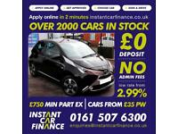 Toyota Aygo Vvt-I X-Clusiv Hatchback 1.0 Petrol GOOD / BAD CREDIT CAR FINANCE