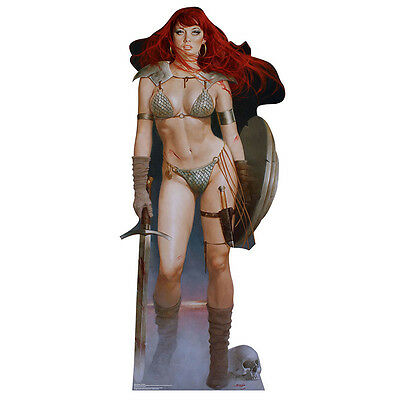 Stand Up Cutouts (RED SONJA Marvel She-Devil with a Sword CARDBOARD CUTOUT Standee Standup)