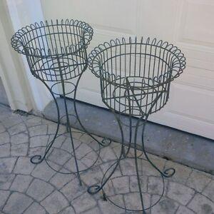 Flower Pot Stands - high quality, metal