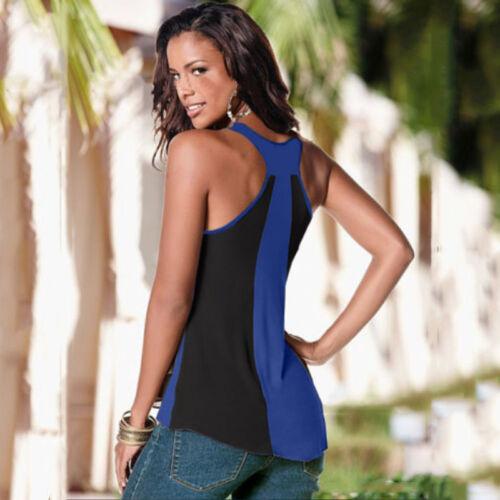 Women Summer T-shirt Tops Sleeveless / Short Sleeve Casual Vest Tee Shirt Blouse