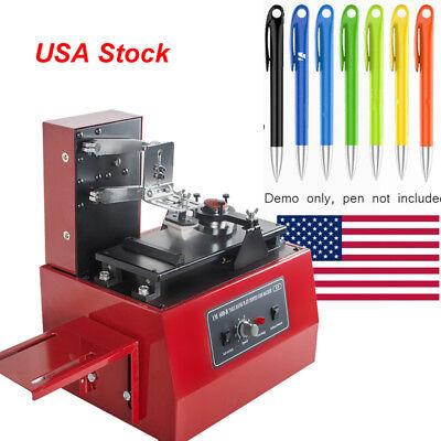 110v Electric Pad Press Printer Printing Machine For Logo Diy Transfer Mental