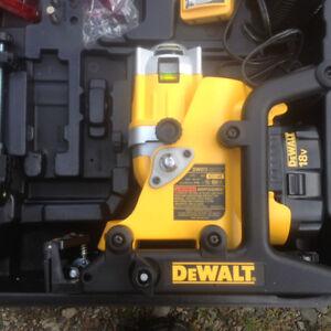 New dewalt laser never used