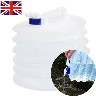 WINOMO 15L Water Carrier Container Foldable Collapsible Camping Bottle Jerrycan