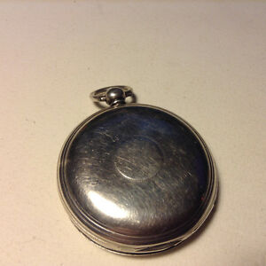 Antique Sterling Silver Pocket Watch