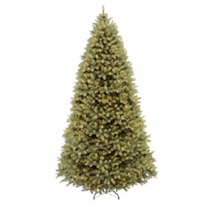 CHRISTMAS TREE 6.5,7,7.5,9,10,12 FT foot feet Trees w Lights MNX