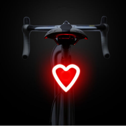 Rechargeable Ultra Bright FLASHING Bike Bicycle Rear Light LED Lamp Tail Warning