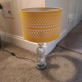Lovely yellow lamp