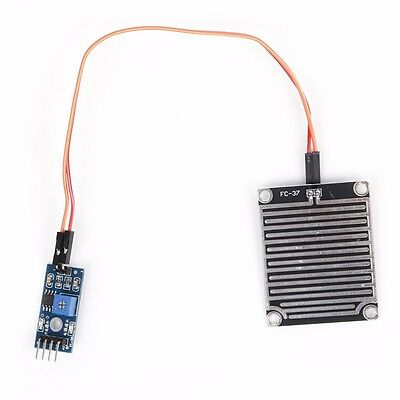 1pc Rain Sensor Module Humidity Raindrop Weather Detection For Arduino New