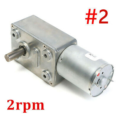 0.6-120rpm Reversible Torque 10kg Cm Turbo Worm Geared Motor Auto Locking Dc12v
